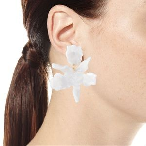 Lele Sadoughi Sm. Lily Earrings - Mother of Pearl